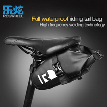 ROSWHEEL Bicycle Saddle Seat Rear Bag Waterproof Tail Light Pocket Basket MTB Road Bike Bags Outdoor Sports Cycling Accessories