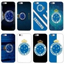 37dbfd759ff Cruzeiro futebol logotipo fino caso de telefone silicone Macio Para Huawei  Companheiro 7 8 9 10