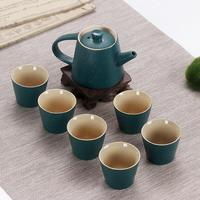 6pcs/Set Tea Cup For Home Office Traditional Tea Set Drinkware Ceramic Chinese House Teapot China Kung Fu Tea Cup Christmas