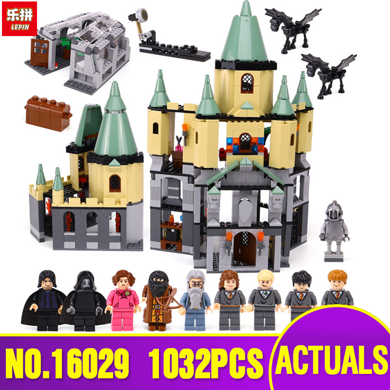 Lepin 16029 Genuine Movie Series The Magic castle set legoing 5378 Educational Building Blocks Bricks Toys Model as Gift 1033pcs lepin 16029 movie series the magic hogwort castle model building blocks bricks educational toys for children gifts 5378