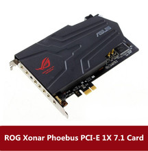 ASUS ROG Xonar Phoebus Desktop independent sound card Pcie1x7.1 Vocal tract Game specific card(China)