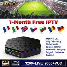 IPTV Italy France T95Z Plus 1 month IP TV Turkey Canada IPTV Subscription 4K Android Box IPTV Spain Italian French FULL HD IP TV