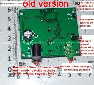 Image 2 - DSP FM טכנולוגיה FM רדיו משדר מודול דיגיטלי LED תצוגת FM תדר 65MHz 125MHz עבור אלחוטי אודיו קול 12V 24V
