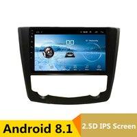 9 2.5D IPS Android 8,1 DVD мультимедиа плеер gps для Renault Kadjar 2015 2016 2017 Аудио автомобилей Радио стерео навигации WI FI
