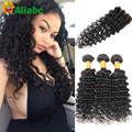 Cheap Queen Hair Brazilian Deep Wave With Closure Grade 7a Deep Curly Brazilian Hair With Closure Ali Moda Hair With Closure