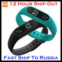 Original xiaomi mi band 2 Xiaomi Miband 2 Smart Wristband Bracelet Heart Rate Monitor Fitness Tracker Touchpad OLED Touch Screen