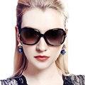 2016 элегантные женские солнцезащитные очки поляризованные солнцезащитные очки звезды анти-уф большие солнцезащитные очки кадр