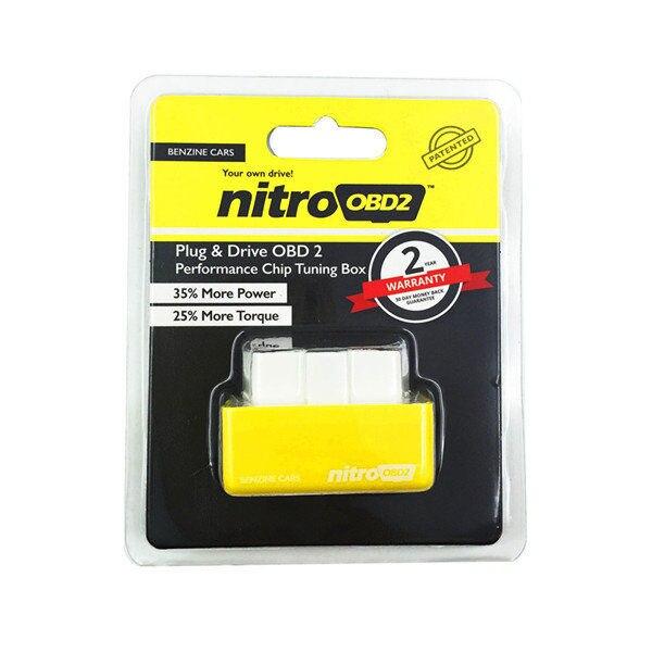 Hot Plug и привода nitroobd2 производительность чип тюнинг коробка для автомобилей nitroobd2 чип-тюнинг Box Car Экономия топлива