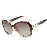 Sunglasses Women S New Fashion Classic Polarized Sunglasses Large Frame Sunglasses Driving Mirror 8315 Prescription Sunglasses