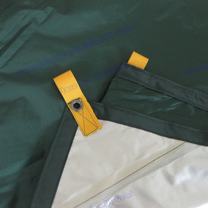 Image 4 - 4.5*5.9 meters big tarp Anti UV  210T with silver coating outdoor large shelter high quality beach awning