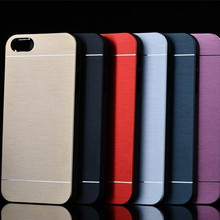 Phone Case For Apple iphone 5 5S SE Case Cover Brushed Alumi