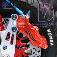 Мотоцикл тормозных суппортов суппорт Akcnd d7 6 ПОРШНЕВЫЕ тормозные насос 40 мм отверстие в отверстие для Yamaha Kawasaki Suzuki Honda модификации