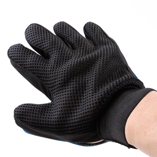 Dog Glove Dog Accessories Soft Use Pet Cats Gloves Grooming Bath Hair Cleaning Comb Efficient Massage Pets Supplier