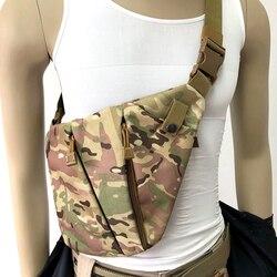 Скрытая сумка, кобура для мужчин, тактическая нагрудная кобура, кобура для хранения пистолета, левое правое плечо, сумка, противоугонная Сум...