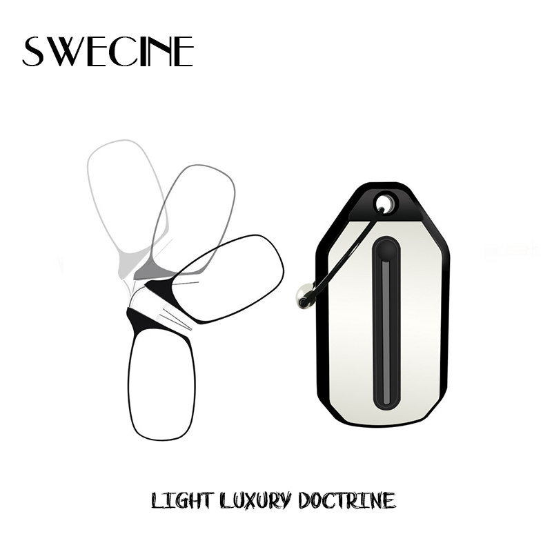 SWECINE Nose Reading Glasses Clip Key-Chain-Case Prince-Nez-Glass Women's Mini And
