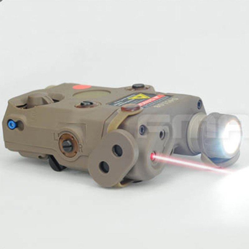 Military utility version hunting NEW AN PEQ 15 upgraded version features white LED Red Laser indicating