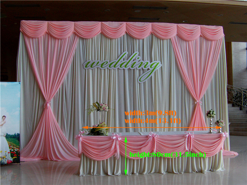 13 1ft W 31 5 Quot H Ice Silk Hot Pink Tablecloth Wedding