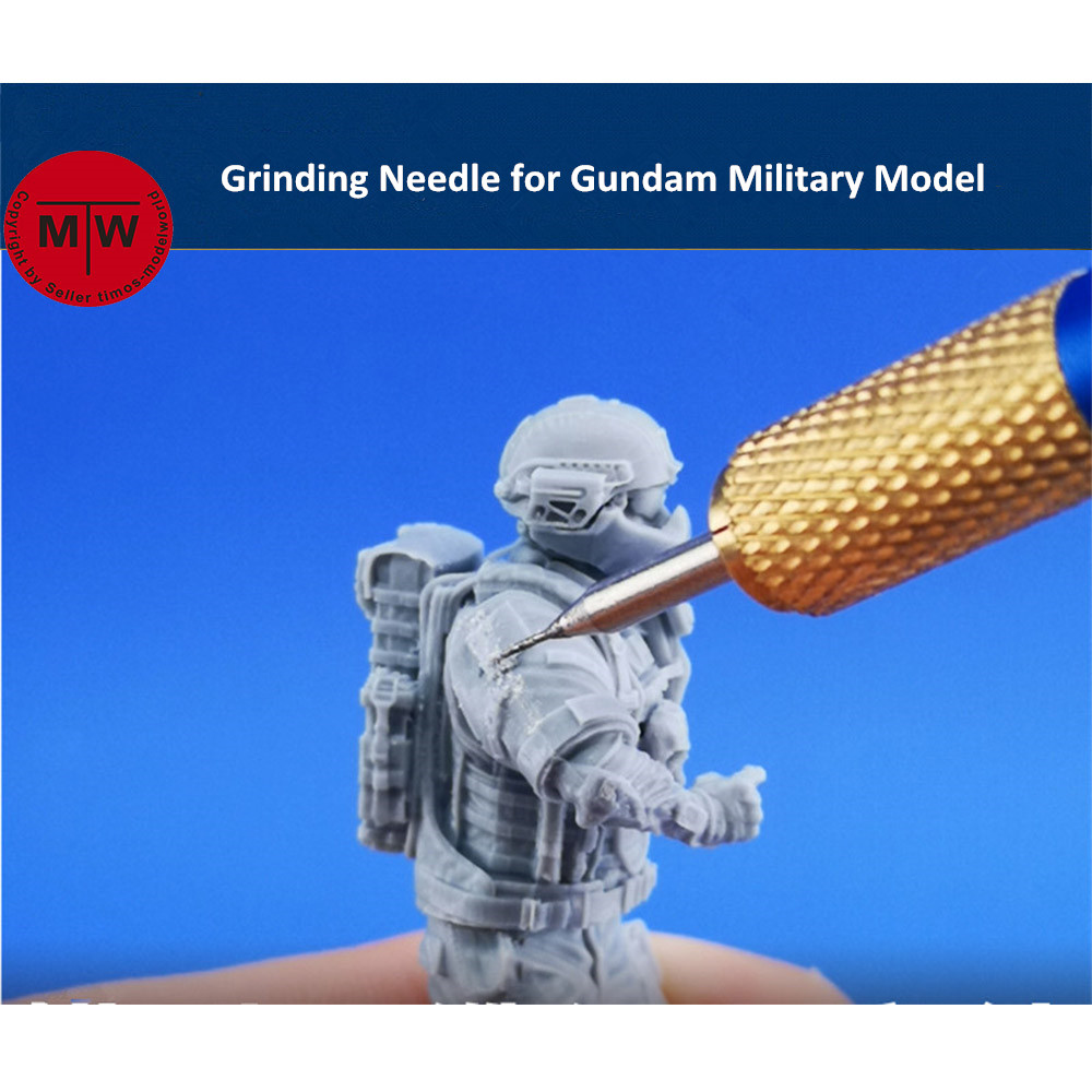 GALAXY Model 0.4mm Grinding Needle Tools For Gundam Military Model Hobby Craft Kits Details Handle Can Choose