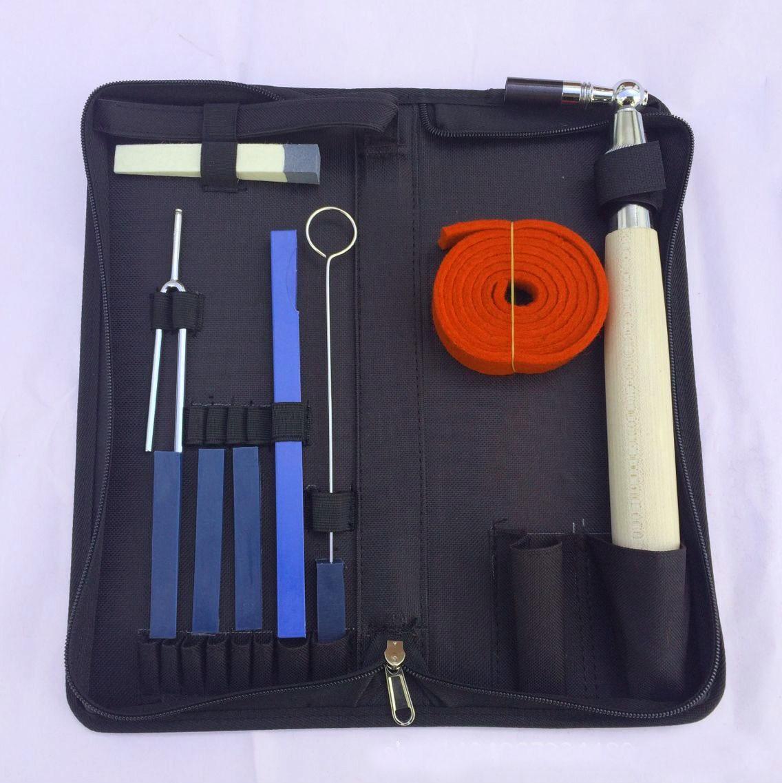 10 PCS/Set Of Piano Repair Tuning Tools Set Tone Tuning Wrench Kit Musical Instrument Accessories musical instrument repair tools for saxophone flute clarinet repair