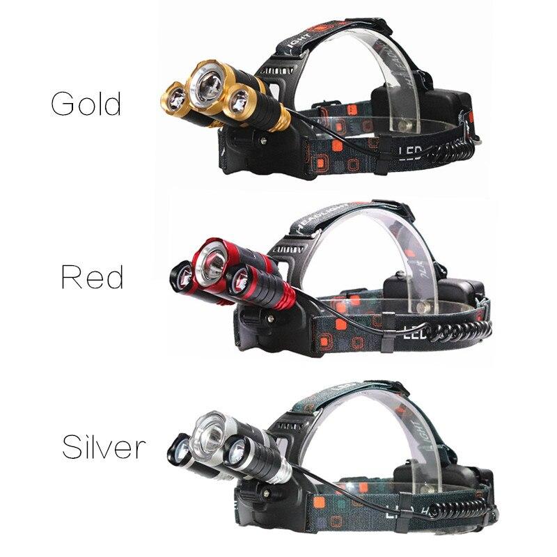 Faróis de Led equipamento ao ar livre Zoom : Zoomable Led Headlamlp