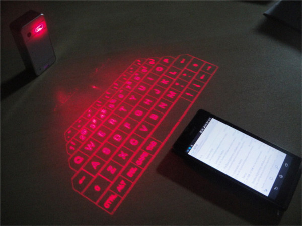 2 In 1 Mini Wireless Virtual Projector Laser Keyboard With Bluetooth Speaker Function For Iphone Ipad Samsung Android Cell Phone Keyboards From Computer
