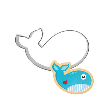 Stainless Steel Ocean Animal Whale/Starfish Cookie Cutter Pastry Fondant  Cake Biscuit Mold Wedding Cake Decorating Tool In Cookie Tools From Home U0026  Garden ...