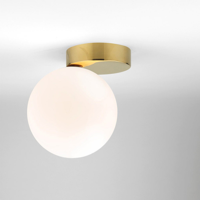 Modern Ceiling Light Gl Ball Lamp Globe Round White Fixtures Wall Mounted Lighting Re