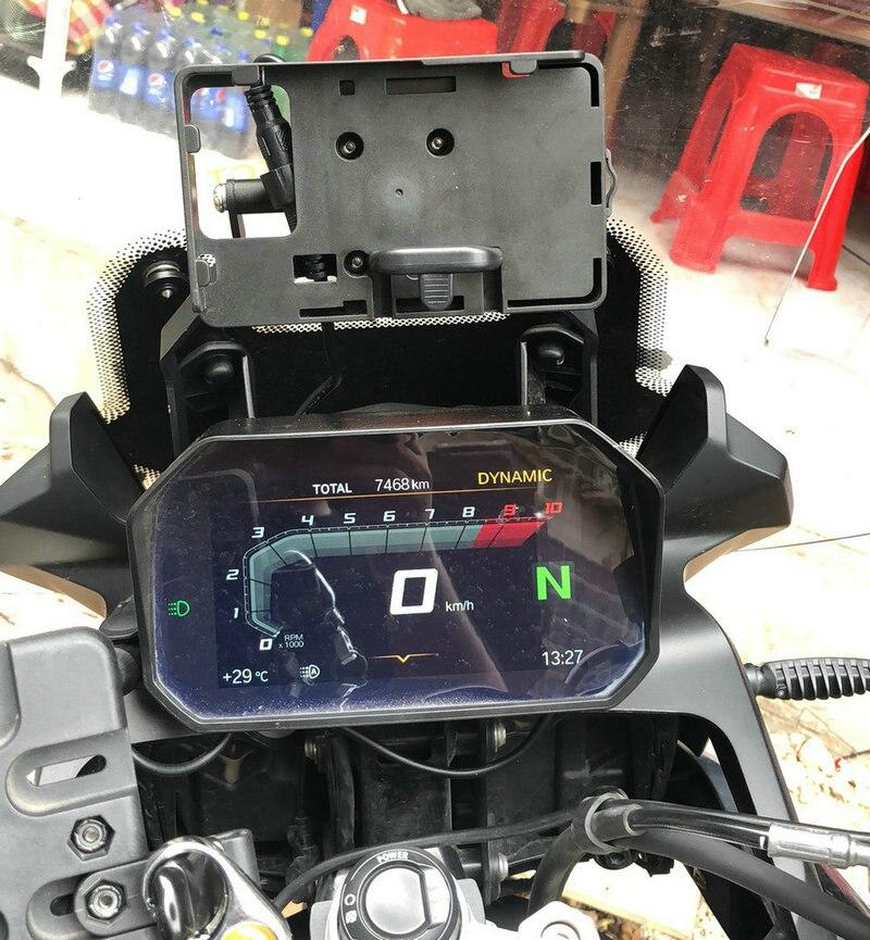 mobile phone Navigation bracket USB phone charging for BMW F750GS F850GS 2018-ONmobile phone Navigation bracket USB phone charging for BMW F750GS F850GS 2018-ON