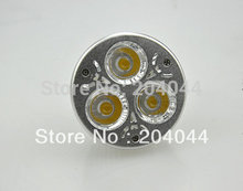 Refletor Led Free Shipping : 20pcs/lot Led Spot Light With 3*1w Power ,230vac/12v Gu10 Gu5.3, Warm Color With Lumin.270-300lm