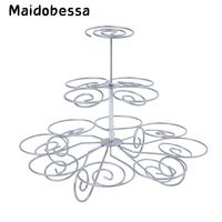 Maidobessa 3 Layers Cake Stands Tools 13 Cups Cupcake Desserts Iron Stands Kitchen Bakeware Tool For