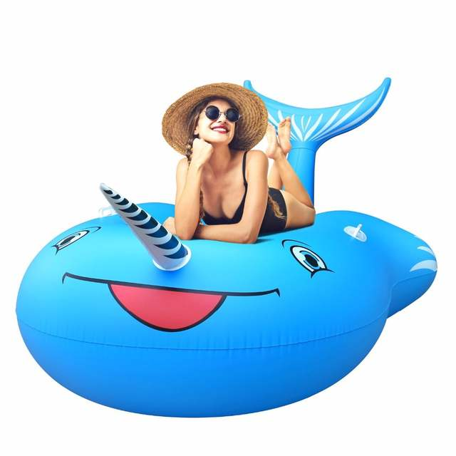 Pleasing Us 28 51 41 Off Inflatable Float Chair Lounge Pvc Giant Inflatable Unicorn Whale Pool Floats With Rapid Valves Beach Water Pool Toy Air Mattress In Creativecarmelina Interior Chair Design Creativecarmelinacom