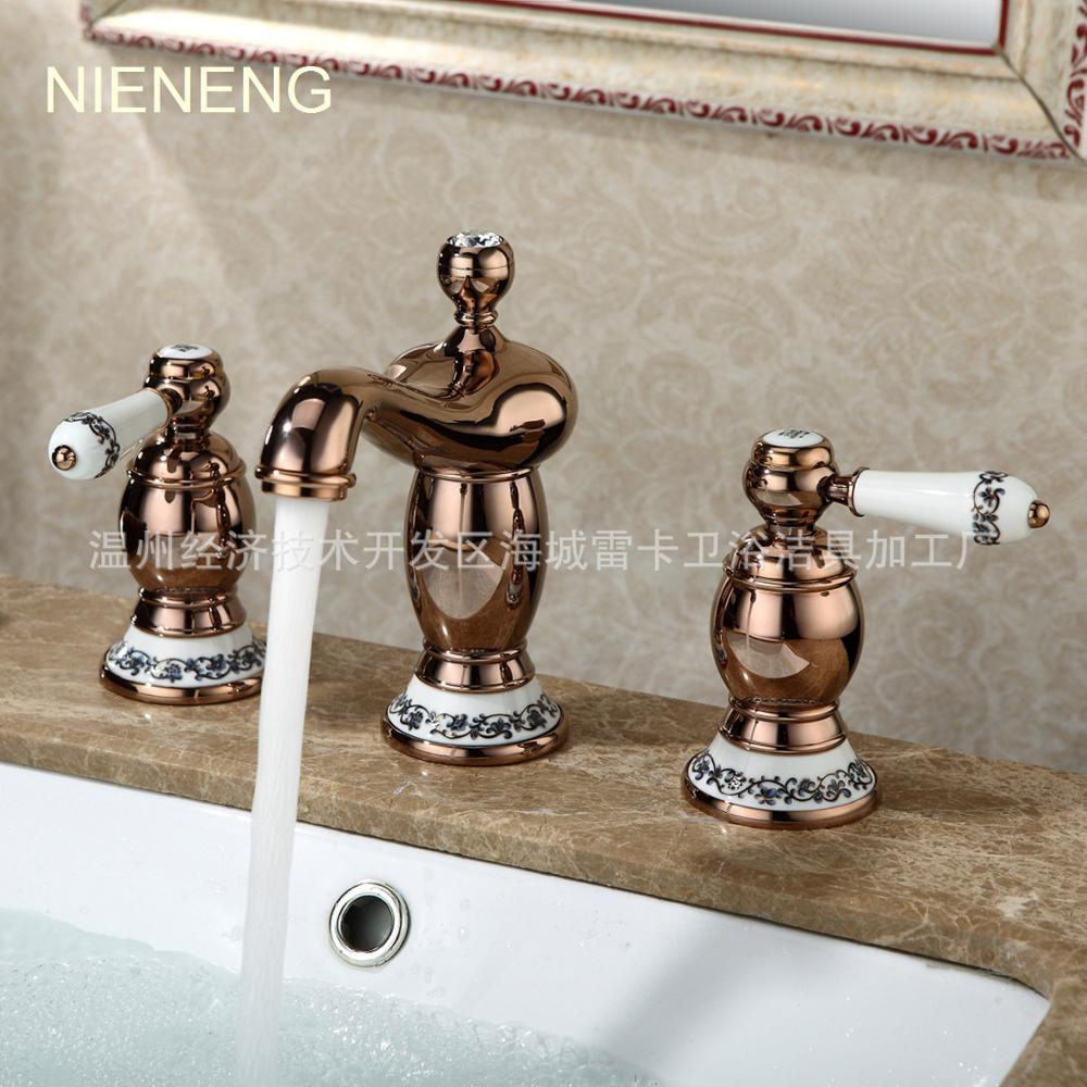 3 Hole Bathroom Faucet faucet three hole promotion-shop for promotional faucet three hole