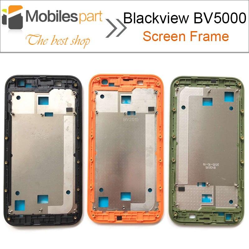 imágenes para Para Blackview BV5000 Pantalla LCD Capítulo de Pantalla Back Reemplazo Del Conjunto Del Marco para Blackview BV5000 Smartphone