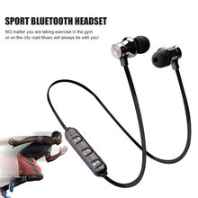 XT-11 Bluetooth Earphone Sport Wireless Headphone Bluetooth Headset Handsfree Earbuds with Mic for iphone Samsung Xiaomi huawei(China)