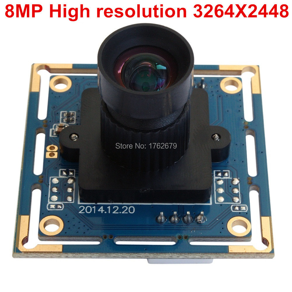 8mm lens MJPEG YUY2 8.0 Megapixel 3264X2448 SONY IMX179 CMOS Mini CCTV Android Linux UVC usb surveillance camera 8mm lens 8 0 megapixel sony imx179 mini uvc usb 2 0 high speed interface cctv camera board module 8mp for android linux windows