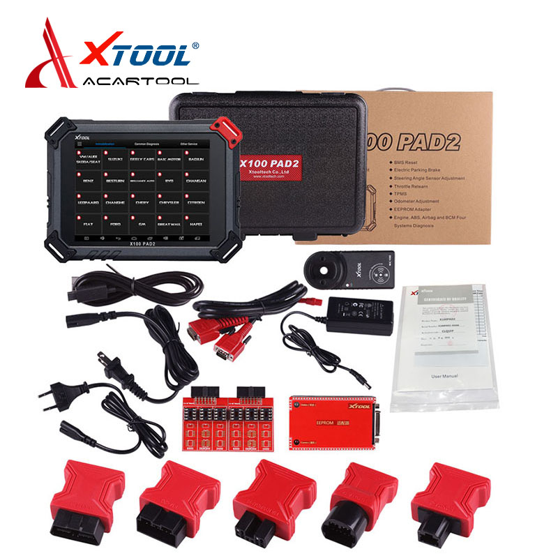 все цены на New Arrived XTOOL X100 PAD2 pro pad 2 update of the x100 pad Auto Key Programmer with Special function like VVDI free shipping