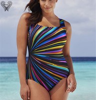 Plus Size Swimwear One Oiece Nathing Suits For Women Large Size Swimsuits One Piece Swimsuit Print