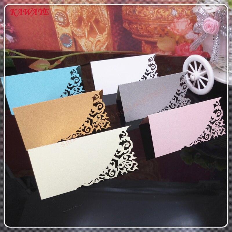 50 шт. полые резные бумаги pearl визитная карточка проверьте держатель для карт свадебный стол карты пригласительный билет 6ZDZ13 ...