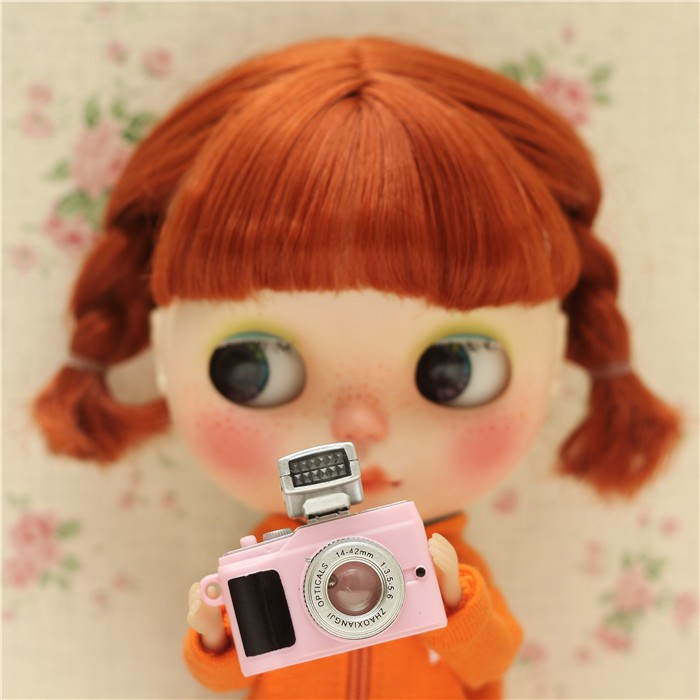 1 Pcs New Fashion Doll accessories Camera for BJD Doll 1 / 6 doll camera for blythe,yosd.sd.dd..pullip Camera for barbie doll image