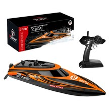 Flytec V003 2.4G 4CH 30km/h 7.4V 1500mAh 120m Brushed motor Electric High Speed Rc Boat & Water Cooling System Ship Model(China)