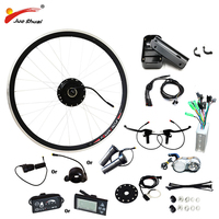 JS E Bike 48V 250W 350 500W Motor Bicicleta Electric Bicycle Bike Conversion Kit for 20 26 700C Front Wheel