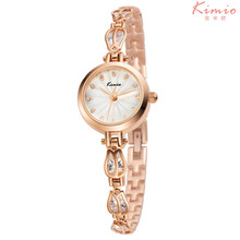 Kimio Brand Fashion Female Ladies Bracelet Watch Luxury Stainless Steel Women Crystal Watch Relojes Mujer Hour