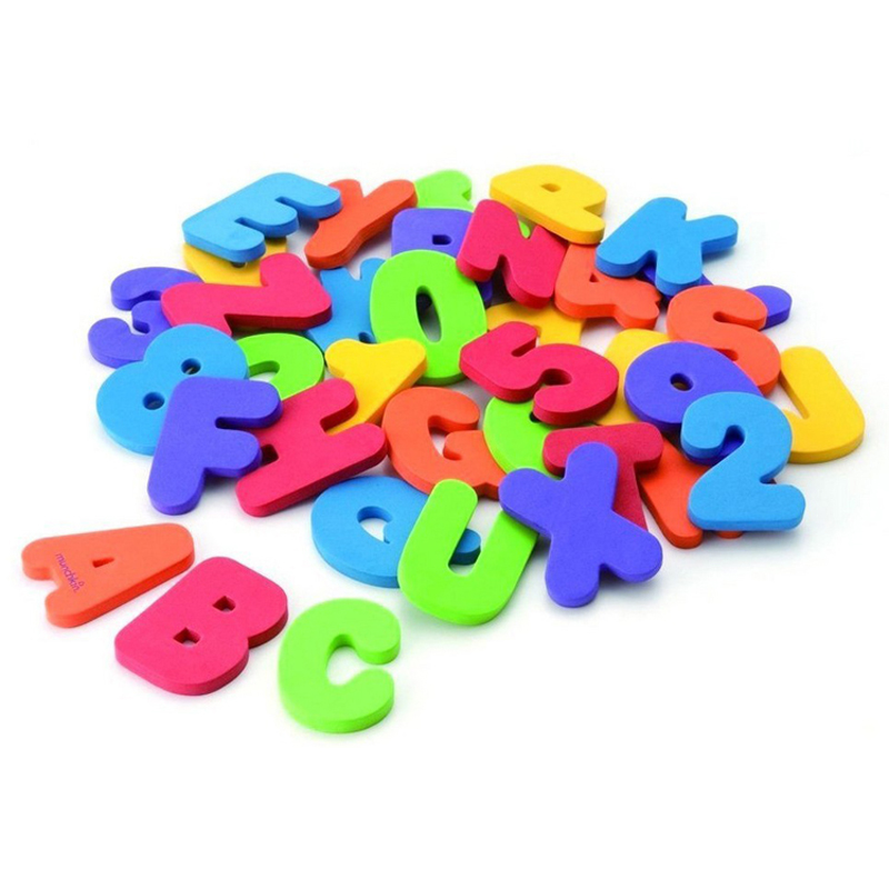 Swimming toys Bath Toys Floating toy with figure + Alphabet educational toy ( 36 pcs per lot) WJ087