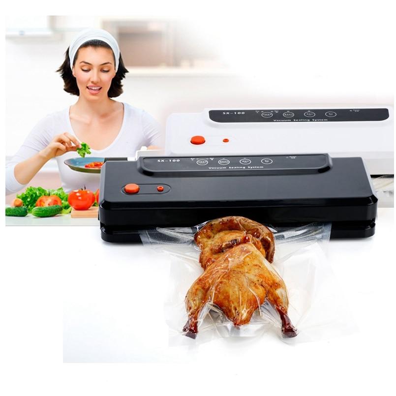 Здесь продается  HIMOSKWA Kitchen Vacuum Sealer Automatic Vacuum Sealing System Food Seal Packer For Dry & Wet External Suction Type  Бытовая техника