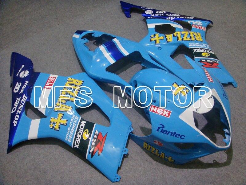Для Suzuki GSXR 1000 К3 2003 2004 АБС впрыска Обтекателя комплекты GSXR1000 К3 03 04 - Rizle+ - синий