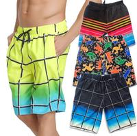 SBART Men's Sport Summer Casual Sport Five Minutes Big Shorts Tide Summer Seven Minutes Loose Couple Quick Dry Men's Beach Pants