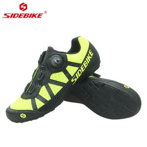 Image 5 - SIDEBIKE Atmungsaktives Mesh Männer Frauen Rennrad Schuhe für Radfahren Schuhe Ultraleicht Nicht Sperren Non slip Berg Fahrrad MTB Sneaker