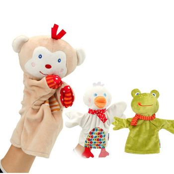 Cartoon Animal Hand Puppets Gloves Baby Plush Toys for Children Puppet Kids Animals