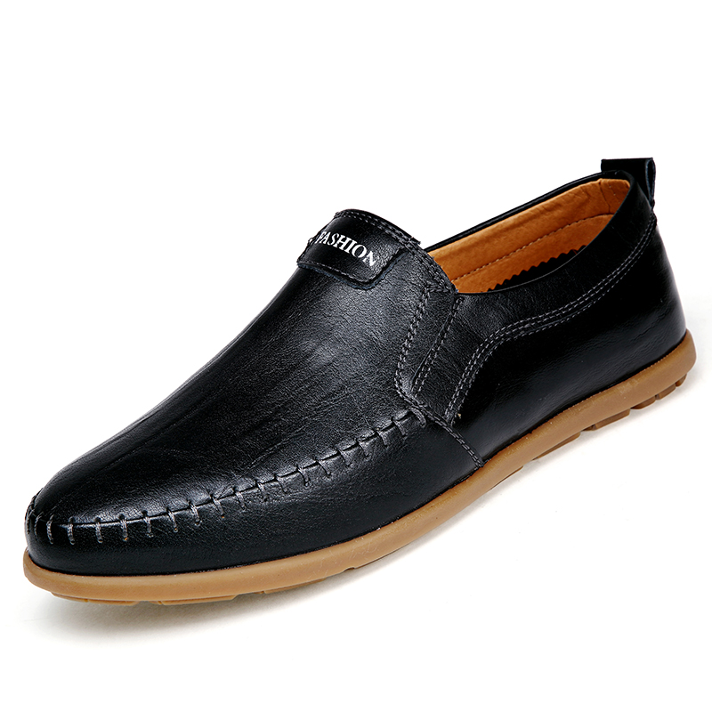 Men Boat Shoes Spring Leather Loafers Walking Shoe Flats Breathable Casual Boat Shoe Wedding Party Male Shoes Men Footear /03 2017 new fashion summer spring men driving shoes loafers real leather boat shoes breathable male casual flats