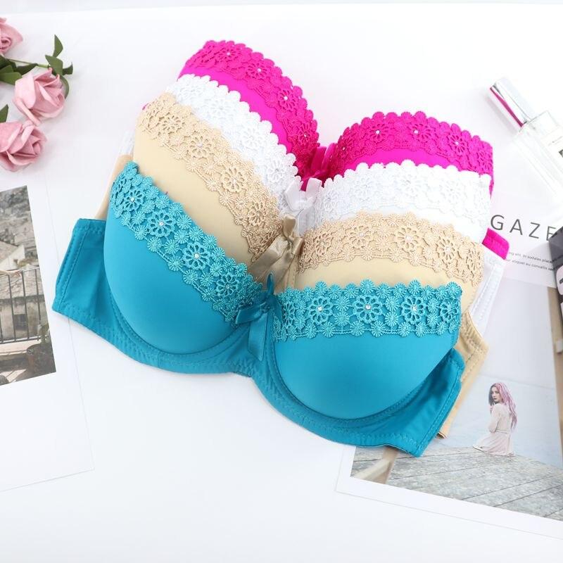 Beauwear Girls's Push Up Underwear Female Small Chest Bra